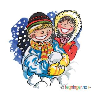 Snø lek – VINTER