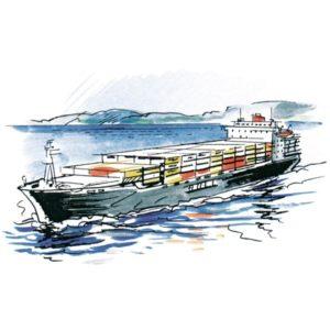 Containerskip – INFRASTRUKTUR