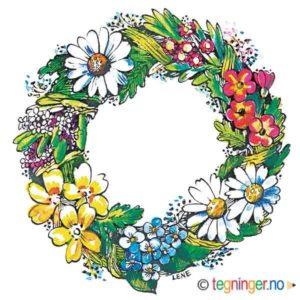 Legg i huskelisten Blomsterkrans – SOMMER