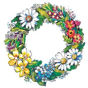 Blomsterkrans - SOMMER