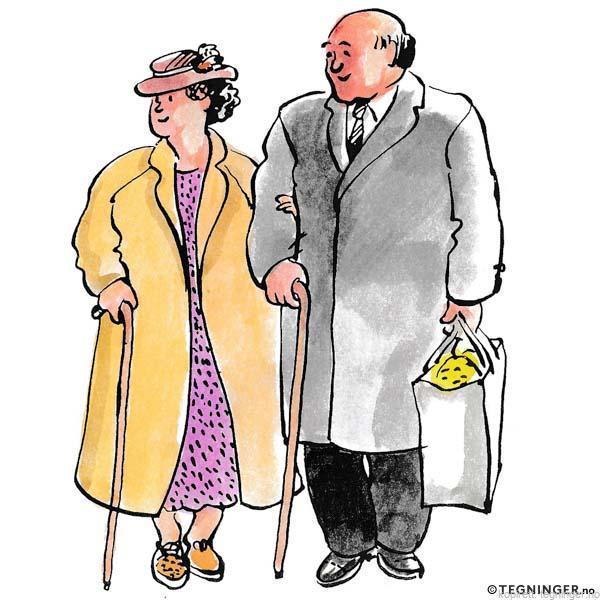Et eldre par - FAMILIE