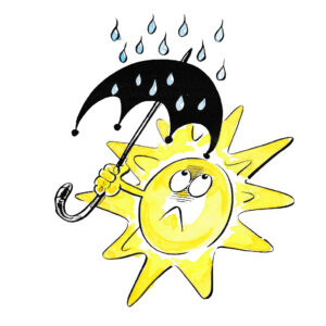 Uttrykt for regn - SOMMER