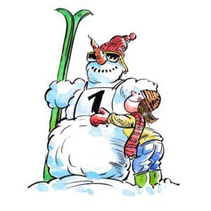 Snømann konkurranse - VINTER