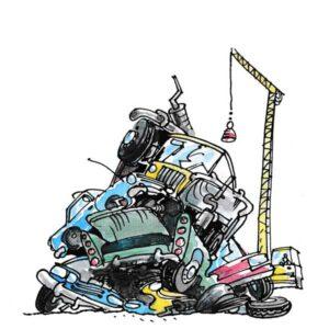 Bil skrot - MILJØ