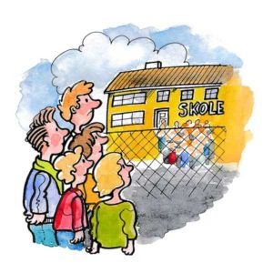 I skolegården - UTDANNING