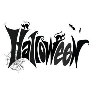 Halloween skrift 2 – HALLOWEEN