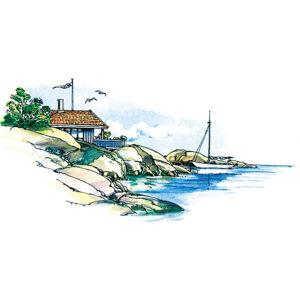 Hytte på kysten – SOMMER