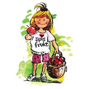 Jente med frukt - HØST