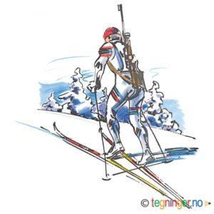 Skiskytter – VINTER