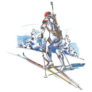Skiskytter - VINTER