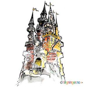 Borg med tårn - ARKITEKTUR