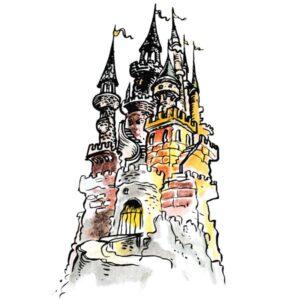 Borg med tårn – ARKITEKTUR