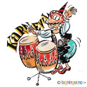 Karneval med congas – BEGIVENHETER