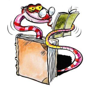 Bokorm som leser – BOK