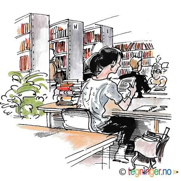 På biblioteket – BOK