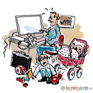 Hjemmekontor - FAMILIE