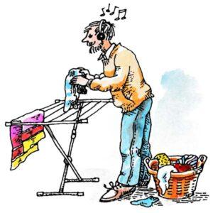 Musikk til klesvasken – FAMILIE