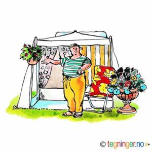 På campingtur – FERIE