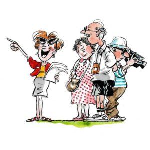 Seniorgruppe med guide – FERIE