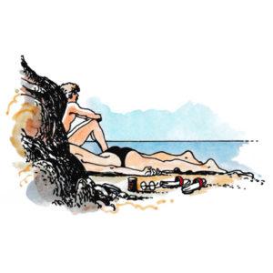 Slappe av ved havet – FERIE