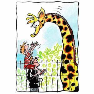 Giraff i dyreparken – FERIE