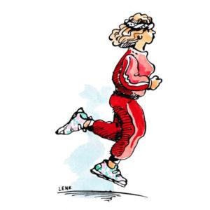 Dame som jogger – FRITID