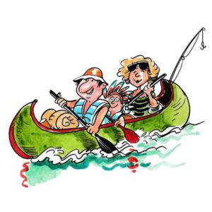 Kanotur med familien - FRITID