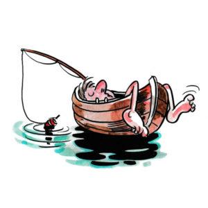 Livet er herlig med båt og dupp - FRITID