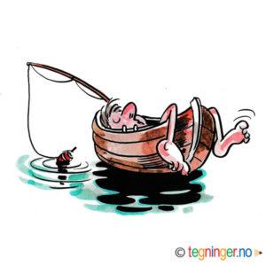 Livet er herlig me båt og dupp – FRITID