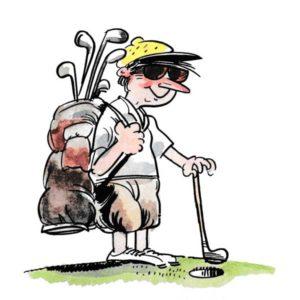 På golfbanen – FRITID