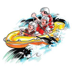 Rafting er aktiv ferie – FRITID