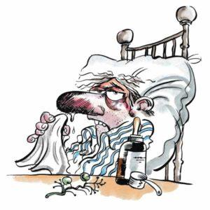 Forkjølet med dryppende nese – HELSE