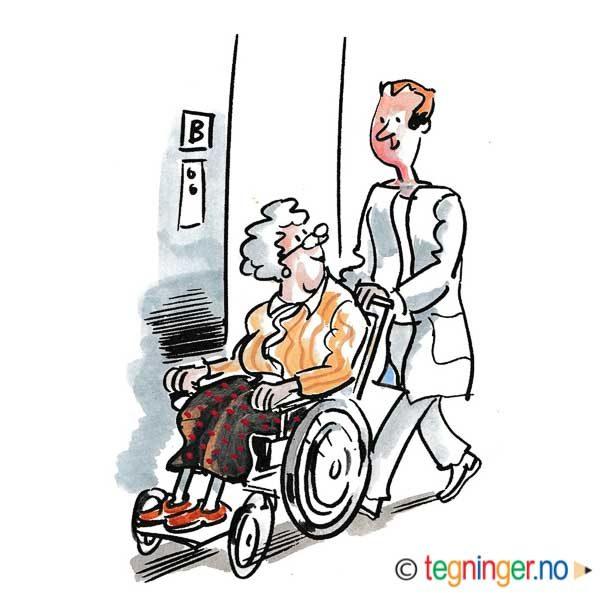 I rullestol på pleiehjemmet – HELSE