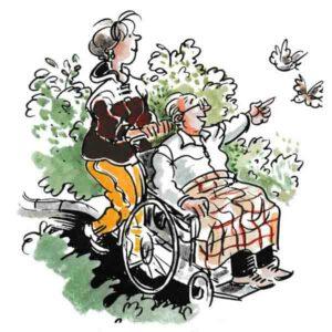 Med rullestol i naturen – HELSE