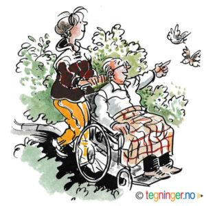 Me rullestol i naturen – HELSE