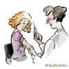 Vaksinasjon med sprøyte – HELSE