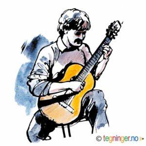 Gitarskole – MUSIKK