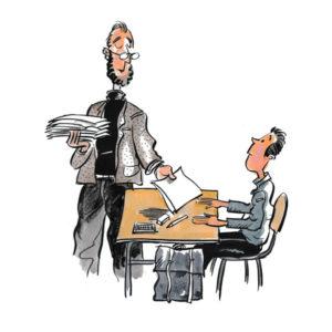 Lærer og elev – UTDANNING