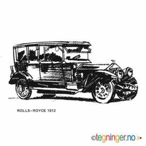 Rolls Royce 1912 - KJØRETØY