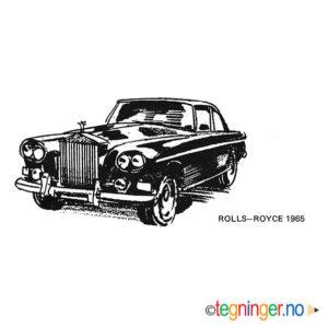 Rolls Royce 1965 - KJØRETØY