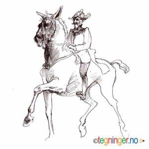 Hest og rytter - DYR