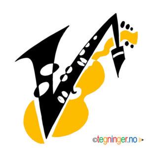 Saksofon og gitar - MUSIKK