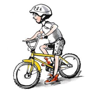 Gutt på sykkel - FAMILIE