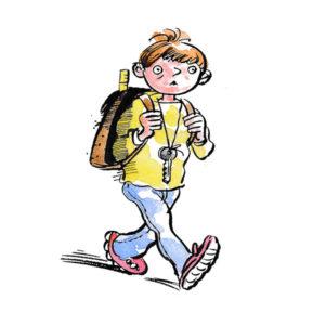 Gå alene til skolen – UTDANNING
