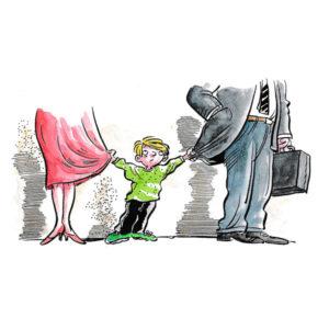 Barn med skilte foreldre - FAMILIE