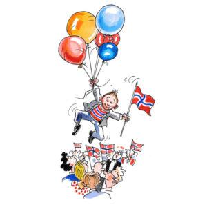 17 Mai med ballonger - BEGIVENHETER
