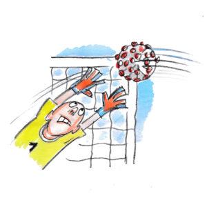 Fotball og korona
