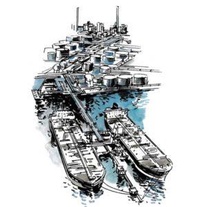 Oljehavn – INFRASTRUKTUR