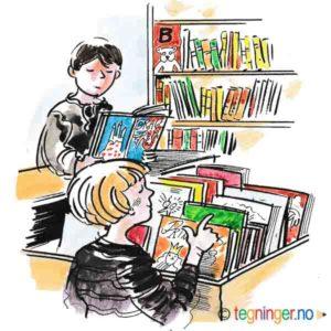 På biblioteket – KULTUR
