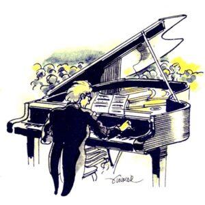 Flygel-pianist – KULTUR
